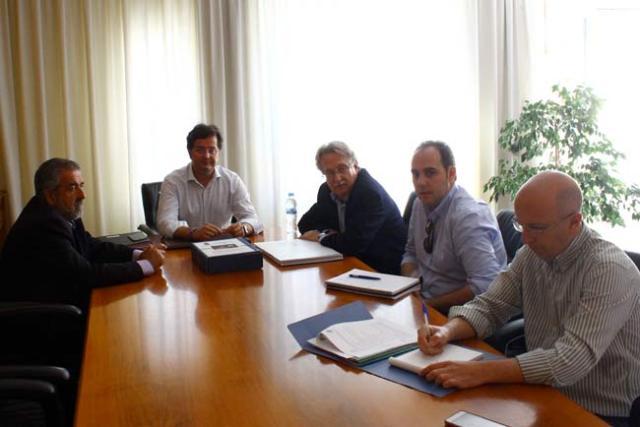 Reunión de la Comisión Técnica del carril bici de El Ejido.