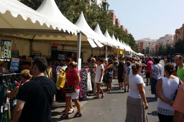 Mercado de Saldos de Roquestas de Mar.