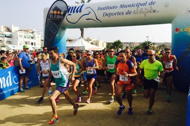 La carrera se ha disputado en un circuito de 10 km.