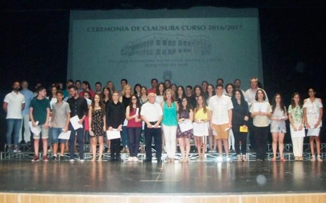Clausura del curso en la Escuela Municipal de Música de Roquetas.