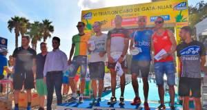 Ganadores del Triatlón de Cabo de Gata-Níjar.