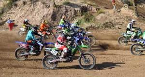 Espectáculo y gran participación en el motocross de Gádor.