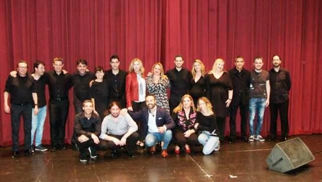 Grupo de profesores de la Escuela de Música de Roquetas.