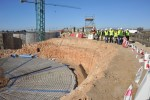 Ejecutado el 25% de las obras de la nueva depuradora de Níjar
