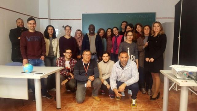 Integrantes de la Lanzadera de Empleo de El Ejido.