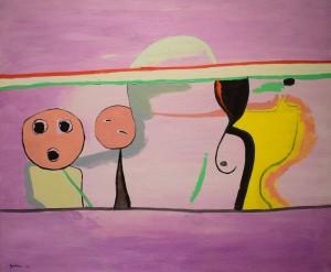 'Mirando cómo amanece' (1993), de Rafael Gadea