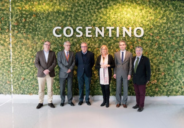 Cosentino ha recibido a los representantes de la CTA.