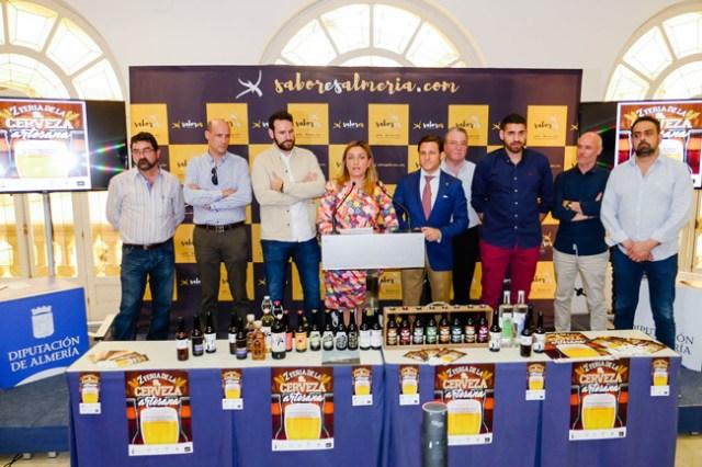 Presentación de la Feria de la Cerveza de Roquetas.