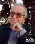 Pablo García Baena, autor de referencia para el Día del Libro