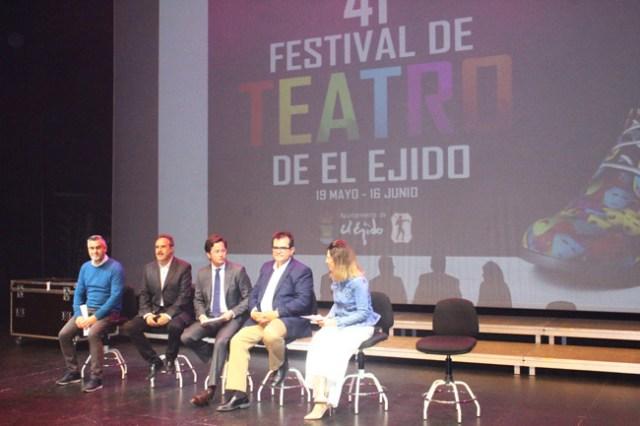 Presentación del 41 Festival de Teatro de El Ejido.
