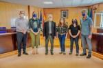 Roquetas de Mar inicia un pionero estudio del alga invasora tras su adhesión al Foro Andaluz AIVAN