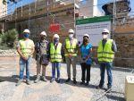 A buen ritmo las obras de restauración de la Muralla Norte del Primer Recinto de la Alcazaba