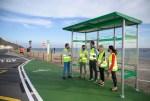 El Consorcio de Transporte Metropolitano de Almería mejora la parada de bus de La Fabriquilla