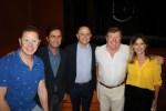 Los Morancos descubren su butaca de honor en el Auditorio de El Ejido