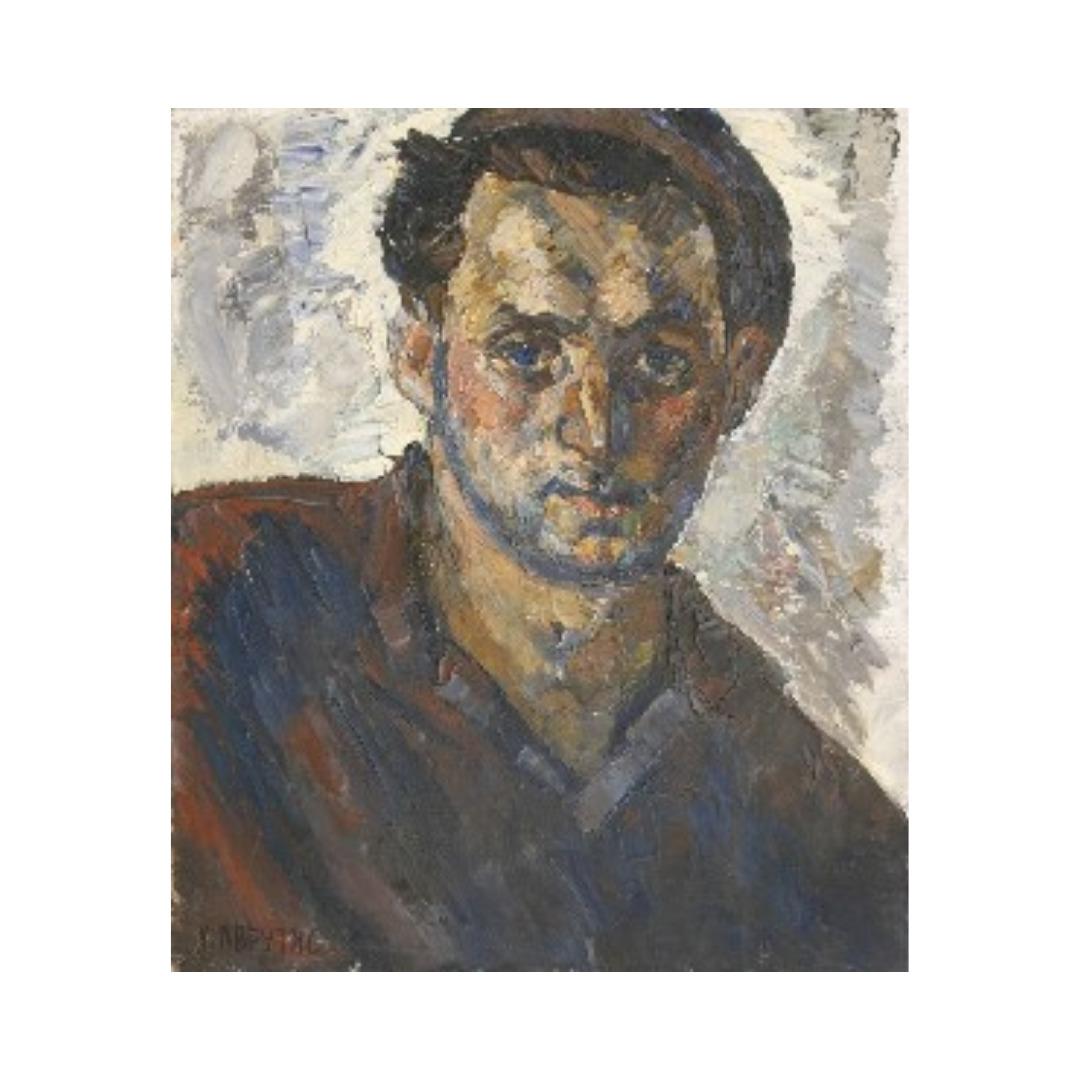 Avrutis kartina portret Avrutis Haim Avraamovich, Tokar' A.Trubenok