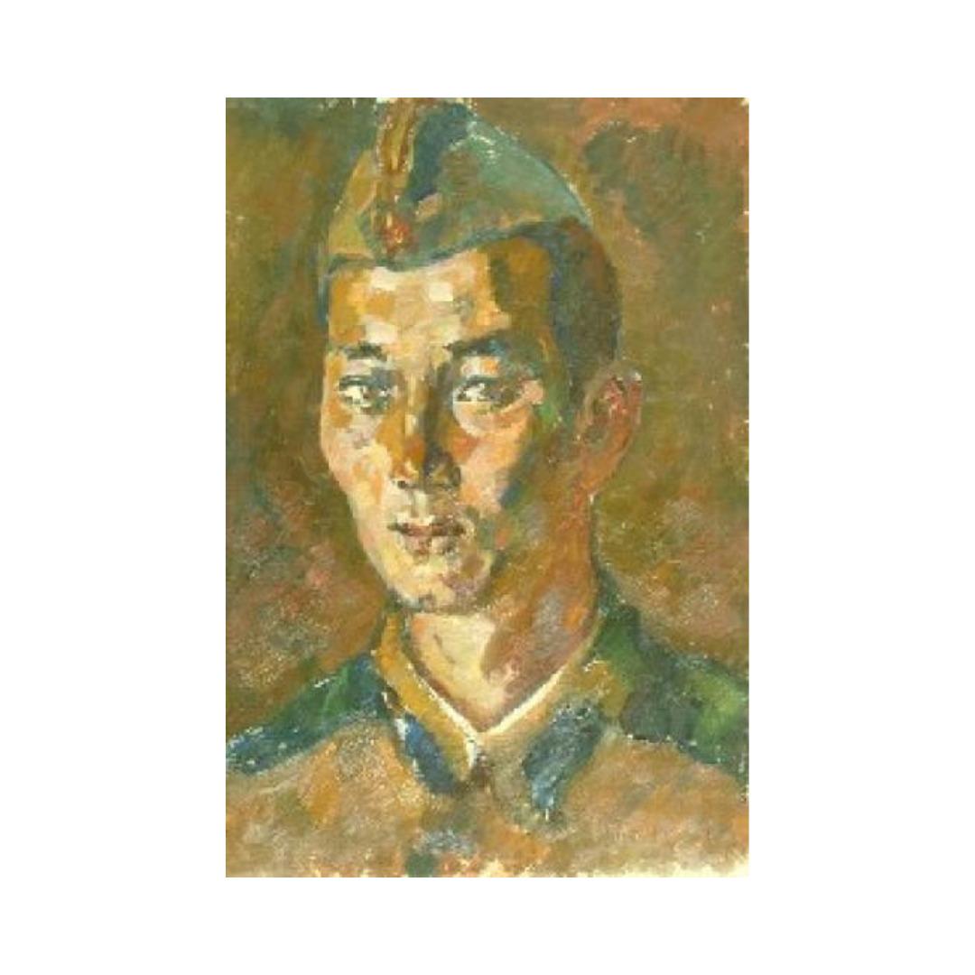 Avrutis kartina portret Kinesary Anarbaev