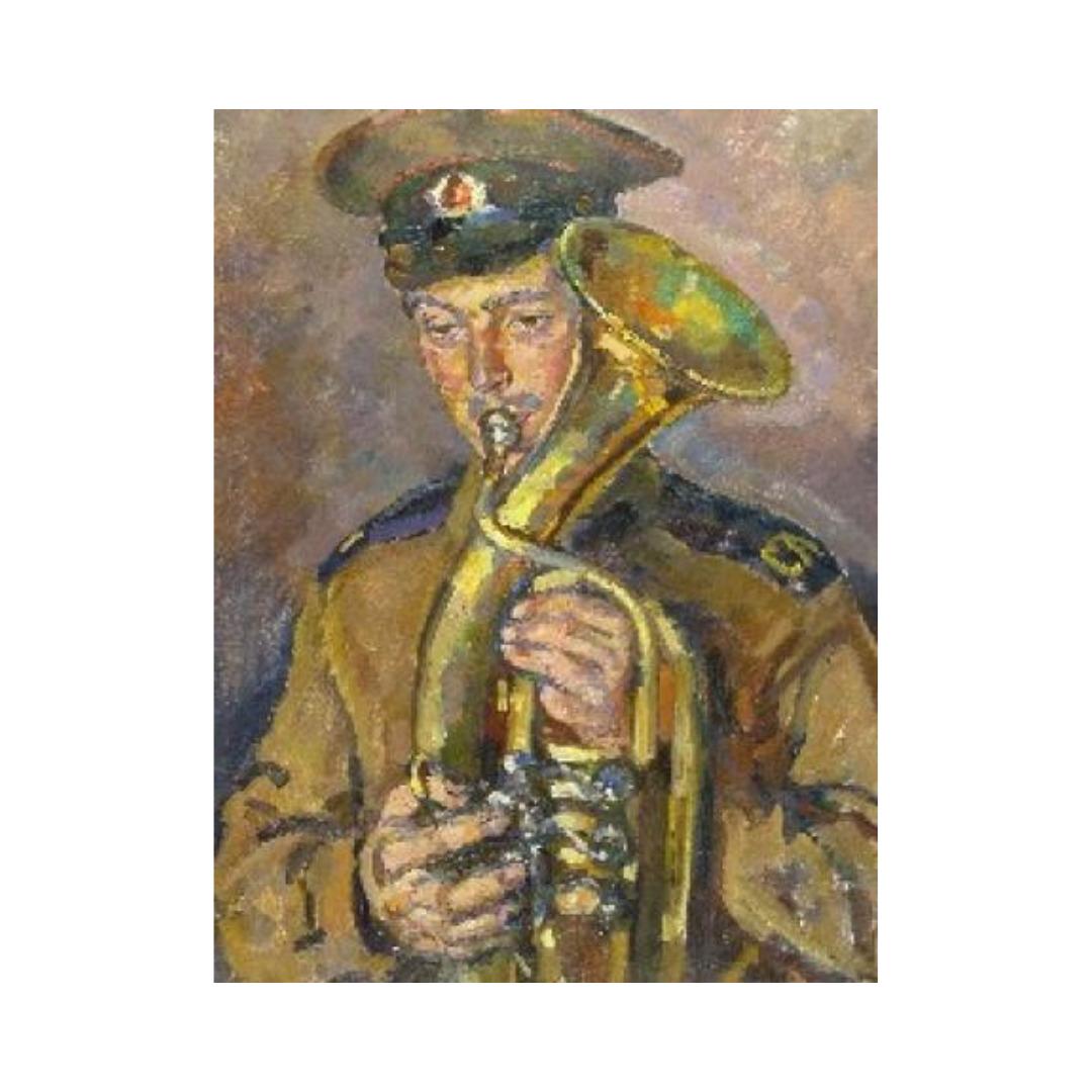 Avrutis kartina Portret A.Glazkova