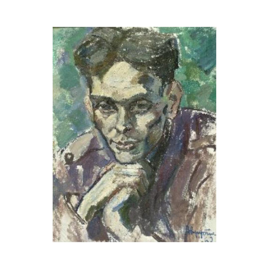 Avrutis kartina Portret V.Puchkina