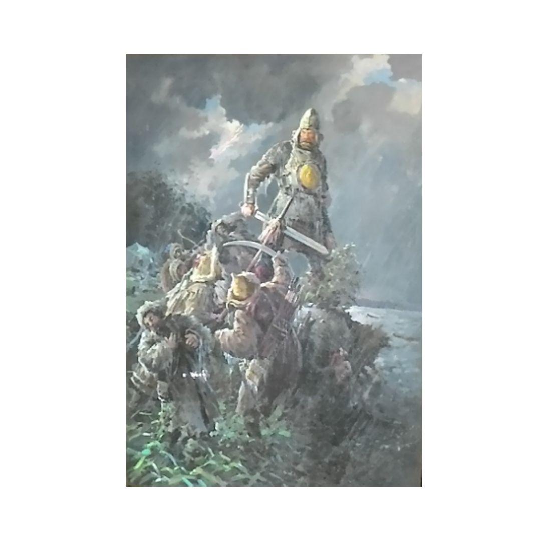 Ganzhinskij kartina Ermak