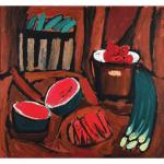 Kartina natyurmort s arbuzom Pozdeev