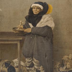художники сибири Кошаров картина Знахарка