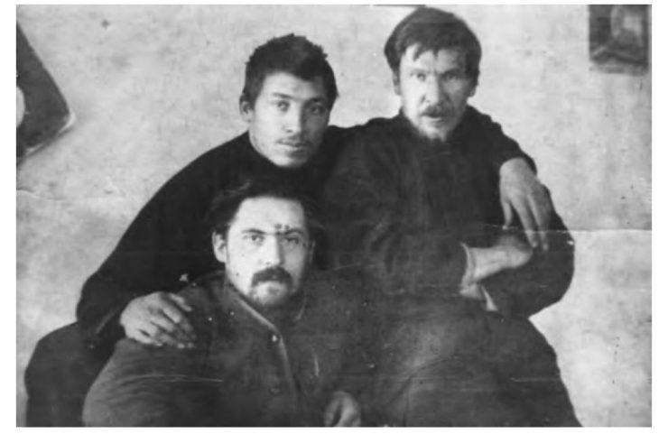 Д. Каратанов, Г. Трегубов, А. Шестаков, до 1910 г.