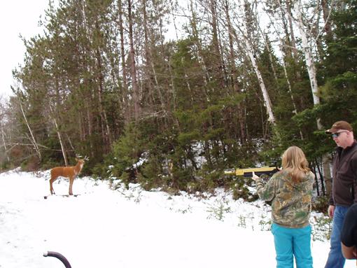 Human Hunting Bow