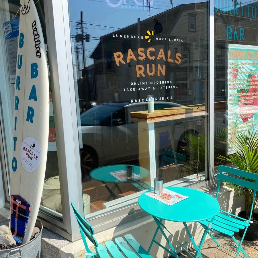 rascals run burrito bar in lunenburg nova scotia