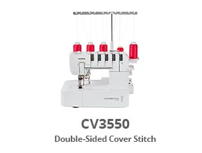 BROTHER CV3550 -Double-Sided Cover Stitch -