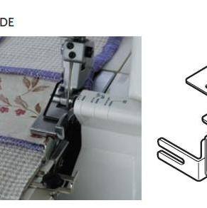 CLOTH GUIDE FOR CATEGORY D OVERLOCK MACHINES.PART NO. 200216100
