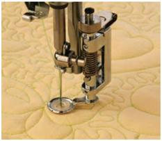 JANOME 1600P - DARNING FOOT / DARNING PLATE