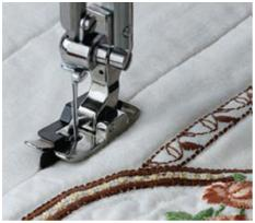JANOME 1600P - DITCH QUILTING FOOT