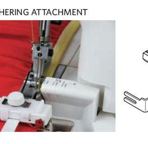 ELASTIC GATHERING ATTACHMENT CATEGORY D ONLY PART NO.200218102