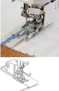 EVEN FEED FOOT (OPEN- TOE) FOR TOP LOADING BOBBIN 7mm - 200339007