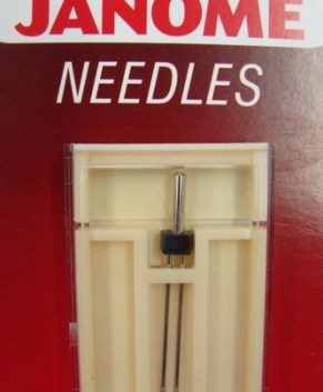 JANOME TWIN NEEDLE 2MM (SINGLE)