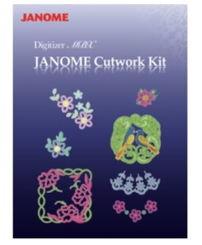 JANOME DIGITIZER MBX CUTWORK KIT ( NEW )