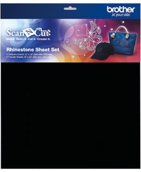 BROTHER SCAN AND CUT -Rhinestone Sheet Set - CARSSH1
