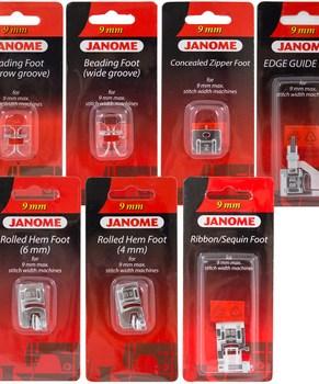 Janome Fashion & Finishing Accessory Kit for 9mm Machines