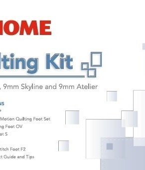 JANOME SKYLINE QUILTING KIT - 9MM