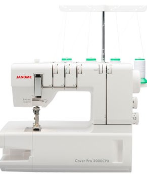 JANOME COVER PRO 2000CPX  - 3 Needle coverstitch - IN STOCK