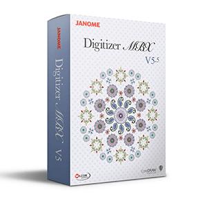 JANOME MBX V5.5 DIGITIZER SOFTWARE - NEW - ON SALE