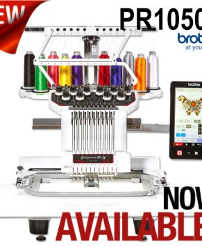 Brother Entrepreneur Pro PR1050X 10 Needle Embroidery Machine