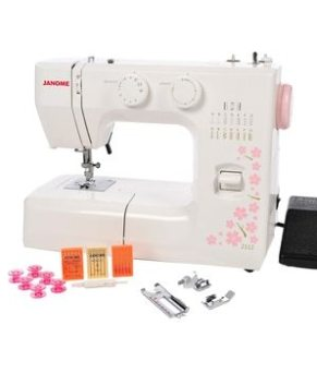 Janome 2112 Cherry Blossom - Limited Edition - All metal frame