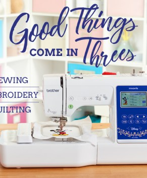 BROTHER NS1750D SEWING AND EMBROIDERY MACHINE - DISNEY EMBROIDERY