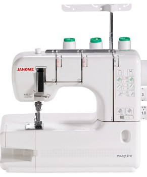 JANOME 900CPX - 2 NEEDLE COVERSTITCH MACHINE - Open Box