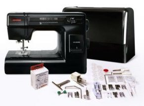 JANOME HD3000 BLACK EDITION - HEAVY DUTY METAL BODY