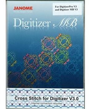 JANOME  - Cross Stitch Option for DigitizerPro V3 and Digitizer MB V3