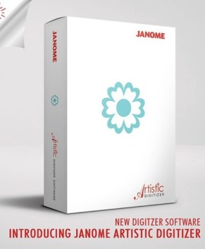 Janome Artistic Digitizer - PC and MAC compatible SALE ENDS NOV 30/20