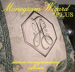 JANOME Monogram Wizard Plus - Software