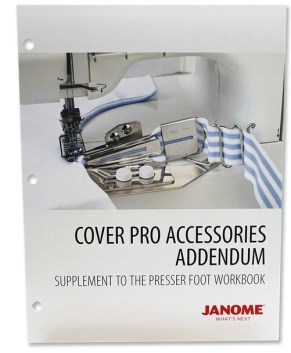 Janome Coverpro Accessories Workbook Addendum